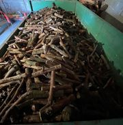 4RM Brennholz dünnes Rundholz 33cm
