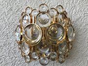 4 Stück Kristall Wandlampen Palwa