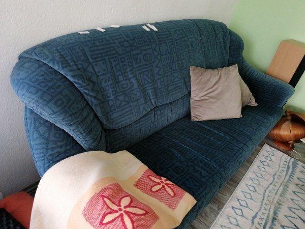 Sofa Couch blau