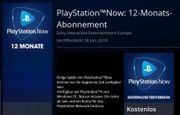 PlayStation NOW 12 Monate - 650