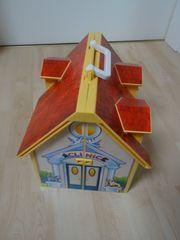 Playmobil Tierklinik Haus zum Mitnehmen