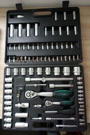 Steckschlüsselsatz Ratschensatz Werkzeugset Werkzeugsatz 95-teilig