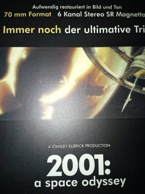 Kult Flyer 2001 Odysee im