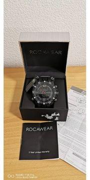 Rocawear Mens Quartz Multi-Black Analog