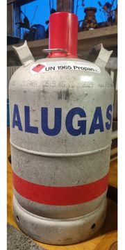 ALUGAS CAMPING Eigetumsflasche gebraucht 11kg