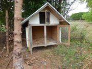 Kleintier-Stall für Aussenbereich Hase Kaninchen