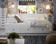 Ikea Hemnes Bett zum ausziehen