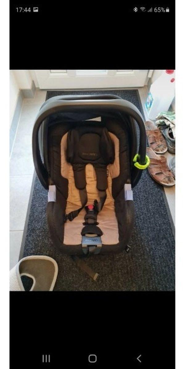 Babyschale von Recaro mit Isofix