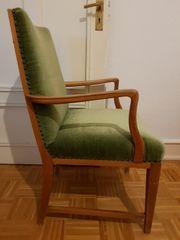 3 alte Stühle Armlehnstuhl in