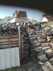 Brennholz aus dem Jahr 2018
