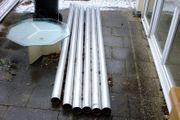 6 x Aluminium Rohr Alurohr
