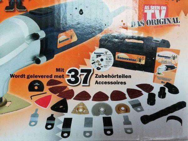 Renovator Deluxe Multitool 37 teiliges