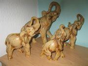 Großes Elefanten-Set 4-teilig sehr dekorativ