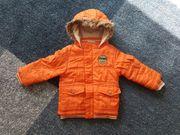 Winterjacke orange von Topolino - Größe