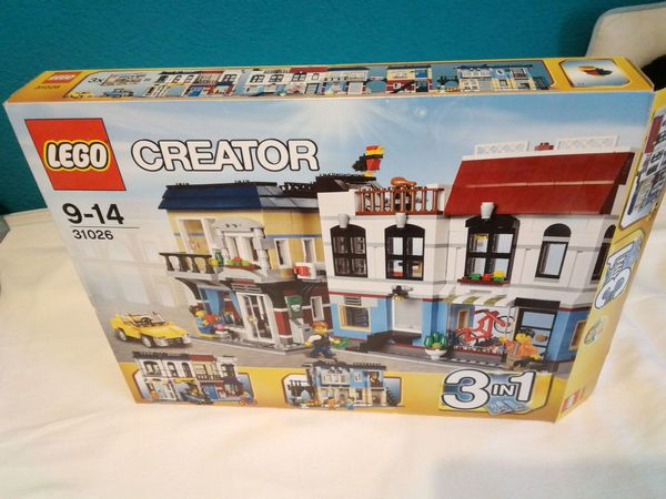 Lego Creator 31026 - Fahrradladen Café