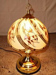 Schöne Nachttischlampe Tischlampe Lampe dimmbar