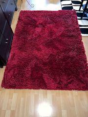Teppich rot 140 X200 cm