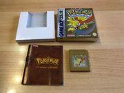 Nintendo Gameboy Pokemon Goldene Edition