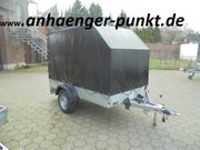 PKW ALUMINIUM-Marken- Anhänger 1200kg 2 51m