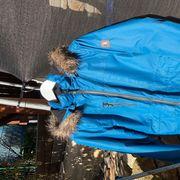 Winterjacke mit Fellkapuze Gr 176