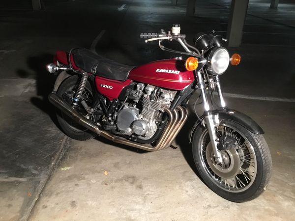 Kawasaki Z1-Z1000 A1 A2 MKII