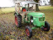 Ältere Traktoren