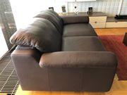 Leder Couch-Garnitur von W Schillig