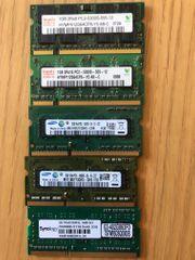 div Notebook RAM Arbeitsspeicher