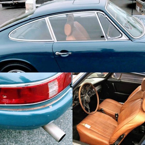 Porsche 912 - coupe mit Schiebedach