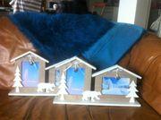 4- teilige Winter Dekoration 2
