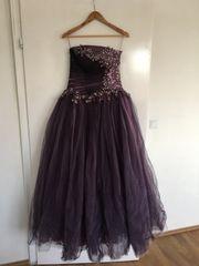 Abendkleid Ballkleid Lila Flieder