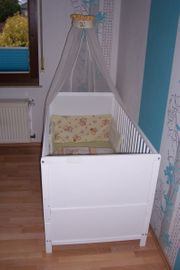 Schnäppchen Kinderbett weiß
