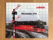 Prospekt Märklin 1984