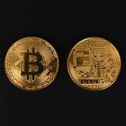Schöne Bitcoin Sammler Medaille Bronze