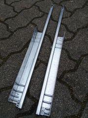 Paar Schubladen Schienen rechts links