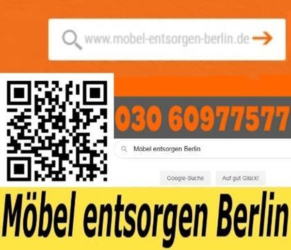 Möbel entsorgen Berlin Schrank Sessel