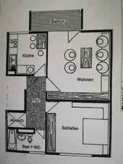 Schöne und gepflegte 2-Zimmerwohnung in