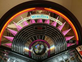 Spiele, Automaten - JUKEBOX WURLITZER NEW YORK CD