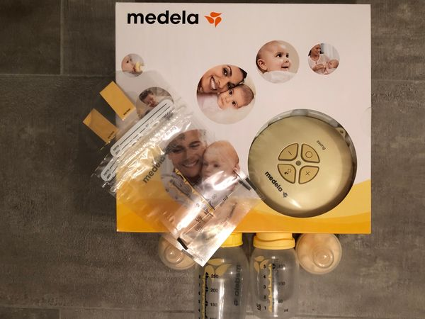 neuwertig ungebraucht Elektrische Intervall Milchpumpe von ARDO Calypso