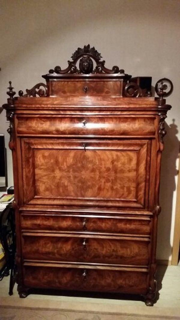 Sekretär Antik In Olching Sonstige Antiquitäten Kaufen Und