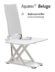 Badewannenlifter AKKU-Antrieb
