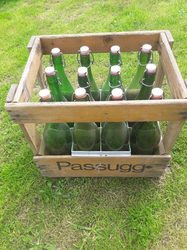 Saft - Sirup - Essig - Glas Flaschen