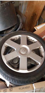 17 Original Audi Alu Felgen