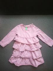 Benetton Mädchenkleid Größe 74
