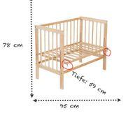 Beistellbett Fabimax Basic aus Holz