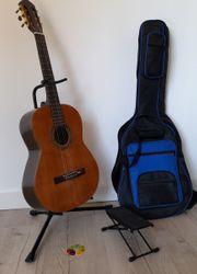 Verkaufe gebrauchte neuwertige Gitarre mit