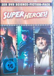 3er DVD Science-Fiction-Pack - SUPER HEROES -