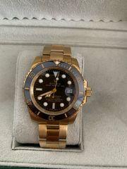 Rolex Uhr Gold Automatik