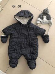 Newborn Baby Winterjacke Overall