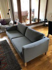 Ikea Karlstad Sofa grau